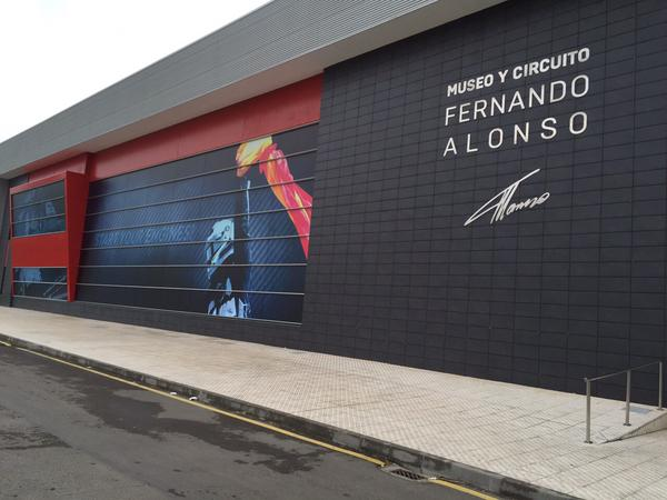 Museo Y Circuito Fernando Alonso : Fernando alonso museum llanera schedules and prices spain
